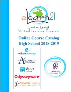 2018-2019 High School Course Catalog