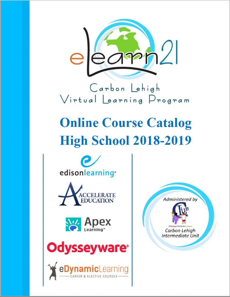 2018-2019 High School Course Catalog